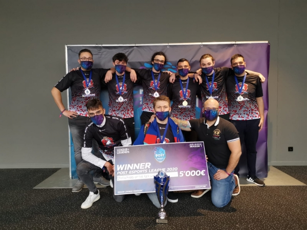 They did it ! BOTRL winner of the POST ESports League