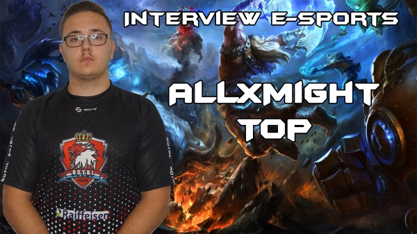 Interviw with ALLxMIGHT